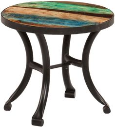 H4home Industrial Style Side Table Vintage Reclaimed Wood Indian Furniture, Retro Furniture, Industrial Furniture, Kitchen Furniture, Industrial Style, Furniture Design, Buy Furniture Online, Furniture Sale, Furniture Ideas
