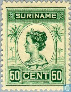 1913 Suriname - Palm Type