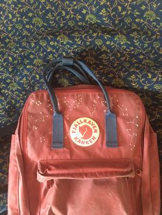 Items similar to the embroidered Fjällräven Kånken backpack (Classic Kånken) on Etsy Women Flower Embroidery Backpacks PU Leather Backpack Sweet School Bags For Teenage .Women Flower Embroidery Backpacks PU Leather Backpack Sweet School Bags For Mochila Kanken, Diy Embroidery, Embroidery Designs, Constellations, Diy Broderie, Diy Backpack, Cute Backpacks, Diy Clothing, Sewing Clothes