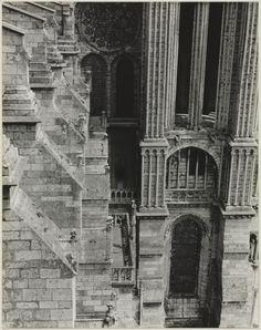 Chartres, Vendome Chapel Exterior, 1929.