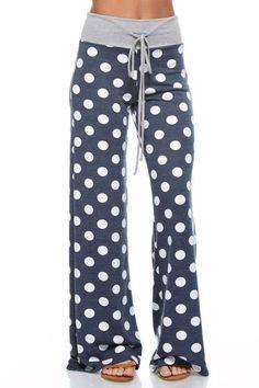 Comfy Lounge Pants-Navy