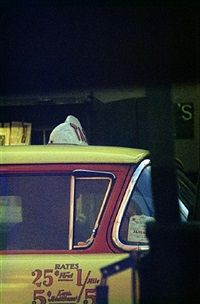 Taxi by Saul Leiter