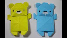 How to make an Origami Animal: Polar bear - YouTube