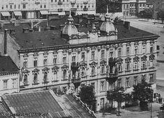 KAMIENICA LUDWIKA MALHOME'A Królewska 6 róg pl. Piłsudskiego, przed 1939