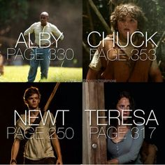 WE DON'T SPEAK OF PAGE 250>>>>NEVER. TO THOSE NEW TO THE MAZE RUNNER…
