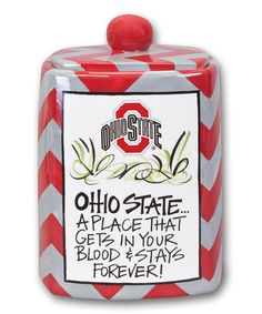 Ohio State Buckeyes Canister