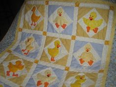 duck quilt pattern | ... quilt called my name the minute i saw the pattern at a local quilt