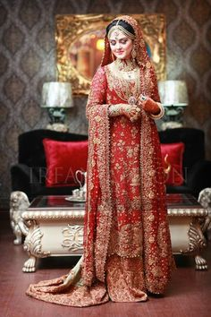Pakistani bride... #irfanAhsonShoot pinned by #sidraYounas