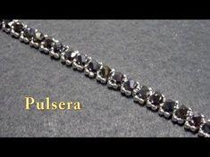 # DIY -Facilisima Pulsera de chafas de plata y tupis# DIY - Silver and Tupi Bracelet - YouTube