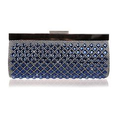 Metal Wedding/Special Occasion Clutches/Evening Handbags with Rhinestones/Acrylic Diamond (More Colors)
