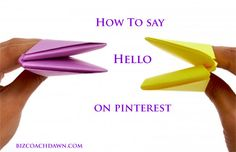 If your business is on Pinterest, then you know how hard it is to really connect with potential customers. What you need is a strategy for starting the conversation.  These 8 tips will show you exactly how to say hello. http://bizcoachdawn.com/8-great-ways-to-connect-with-customers-on-pinterest/