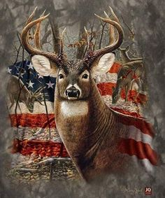 Diamond Painting Kits for Adults Full Drill- Diamond Art Kits for Beginners and Students with Adults' Paint-by-Number Kits for Wall Decoration, Gift, Relax (Flag Deer) Whitetail Deer Pictures, Whitetail Deer Hunting, Deer Photos, Deer Hunting Tattoos, Deer Pics, Whitetail Bucks, Hunting Wallpaper, Deer Wallpaper, Big Deer