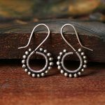 Miao earrings silver