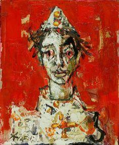 Paul Augustin Aïzpiri (French, born 1919) Arlequin II.