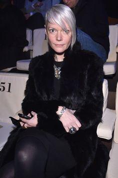 Kate Lanphear in EMPORIO ARMANI SHOW - Front Row - Milan Menswear Fashion Week Fall Winter 2015/2016