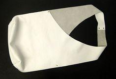 Tracolla borsa a mano In pelle bianca di JPRESTONHANDBAGS su Etsy