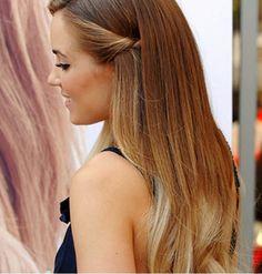 Acconciatura capelli sciolti e shatush