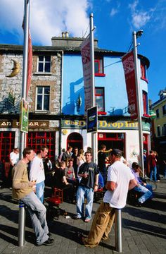 Galway City Image - Outdoor pub, Galway City - Lonely Planet