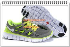 Free Shipping to Buy $65.86 2012 Nike Free Run + 2 Grey Light Green #nike #shoes nike shoes