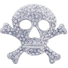 Austrian Crystal Skull Halloween Holiday Pin Brooch Fantasyard, http://www.amazon.com/dp/B005PP50D2/ref=cm_sw_r_pi_dp_kgxGqb1WKYST2