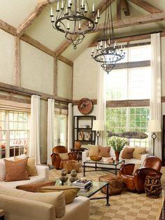 David Scott Interiors, LTD. - Bridgehampton Estate Living Room