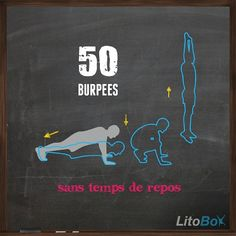50 burpees is what I did today!!!!! Argh