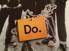"""Style with Mind necklace """"Do."""" www.magne.ie"""