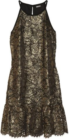 #DKNY ~ #Lace #Dress #nye #party