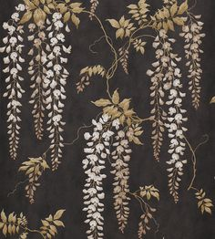 The wallpaper Seraphina - from Colefax and Fowler is wallpaper with the dimensions m x 10 m. The wallpaper Seraphina - belongs to the popu Wallpaper Online, Retro Wallpaper, Black Wallpaper, How To Hang Wallpaper, Wall Wallpaper, Oriental Print, Japanese Screen, Animal Print Wallpaper, How To Make Curtains