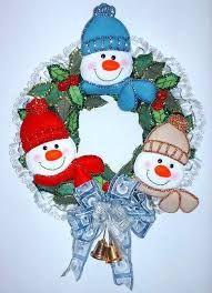 Patrones navidad and d on pinterest - Manualidades con fieltro para navidad ...