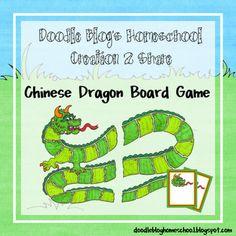 CNY Dragon Board Game freebie