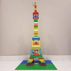 Eiffel2b | Lego, Lego bauen und Basteln mit kindern
