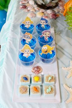 Bubble Guppies 2nd Birthday | CatchMyParty.com