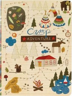 This camp journal is so cute, I think I may buy one.