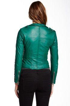 Muubaa Presley Leather Biker Jacket