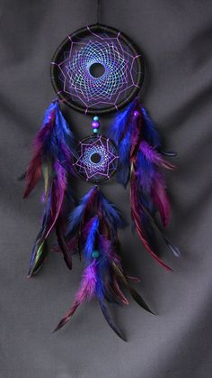 Dream catcher atrapasueños azul dreamcatcher violeta