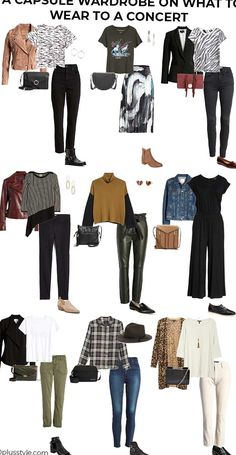 Wondering what to wear to a concert so you look stylish without trying too hard Here are all the best concert outfits for women over 40. Stylish Outfits, Winter Outfits, Fashion Outfits, Womens Fashion, 50 Fashion, Steampunk Fashion, Gothic Fashion, Fashion Ideas, Concert Outfit Winter