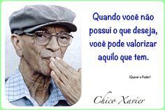 """Acesse """"Querer e Poder"""" (texto completo) #ChicoXavier #Reflexao"""