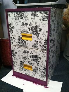 Sweetness of the Everyday: Filing Cabinet Makeover {tutorial}