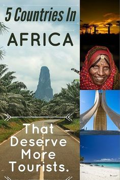 5 Underrated Countries In Africa That Deserve More Tourists. #madagascar #eritrea #saotome #algeria #comoros #africa #travel #traveltips #travelblogger #travelhacks #traveldestinations