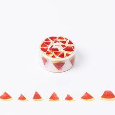 2cm*8m Watermelon washi tape DIY decoration scrapbooking planner masking tape adhesive tape label sticker stationery