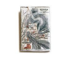 Map Passport Cover printed with the map of ancient by efratul, $7.00