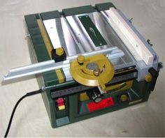 Proxxon FET tilting arbor table saw by Pete and Pam Boorum.