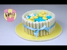 Make a Ducks in Pond Kit-Kat Cake - Baby shower - Part 1 with Aunty Elis...