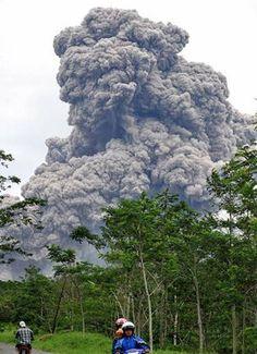 Merapi 2010 Eruption