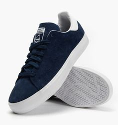 Buy adidas Originals Stan Smith Vulc at Caliroots. Article number: Streetwear & sneakers since Blue Sneakers, Slip On Sneakers, Stan Smith, Sneakers Fashion, Fashion Shoes, Fashion Fashion, Fashion Outfits, Fly Shoes, Shoes Men