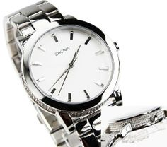 DKNY Glitz Silver-Tone Dial Women's Watch #NY8317 DKNY. $117.90. New DKNY NY8317 Women's Crystal Bezel Silver Tone Stainless Steel Watch. Save 33% Off!