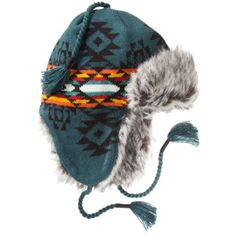 Mossimo Supply Co. Men's Trapper Hat - Aztec