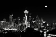 My Silver City (Seattle, Washington)/ loved it Seattle City, Seattle Skyline, Silver City, See It, Places To Travel, Places Ive Been, Seattle Washington, Black And White, White Photography