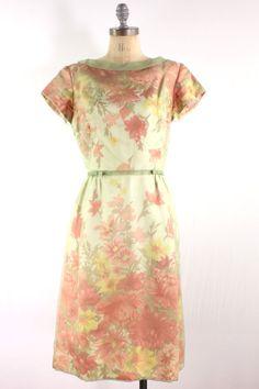 50s Floral Dress.